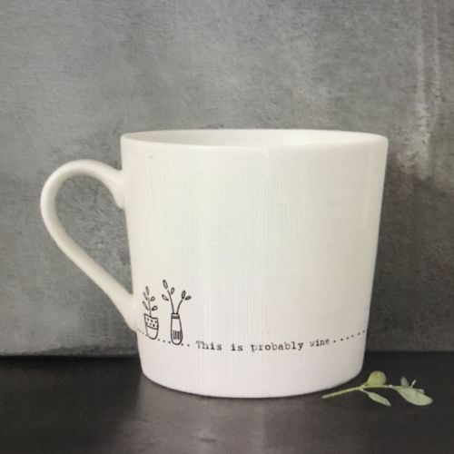 This is probably wine - gift mug